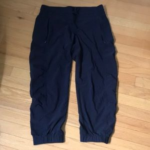 Athleta Navy Joggers